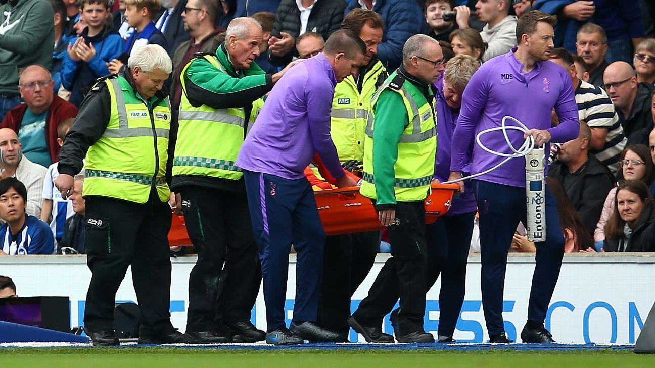 Tottenham's Lloris out until 2020 with damaged ligaments - France boss Deschamps