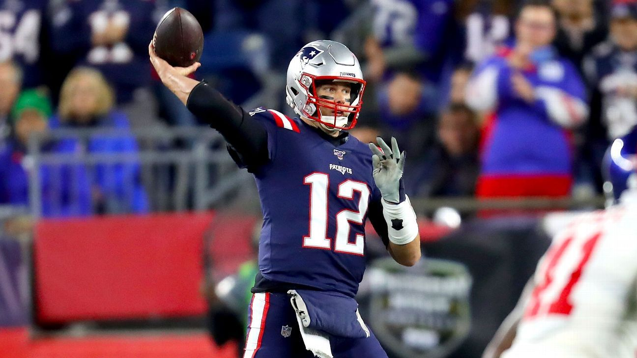 Tom Brady, Patriots bailed out by D on way to 6-0 start