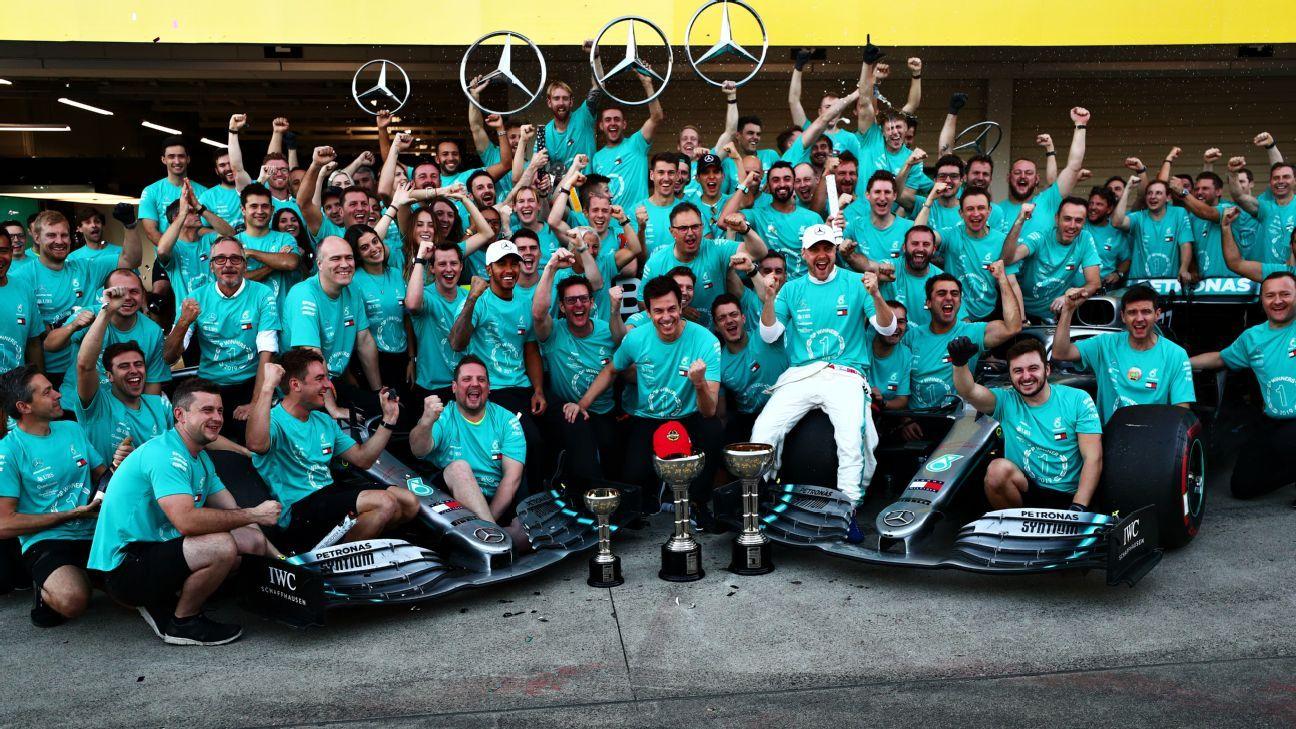 Mercedes shows its title-winning pedigree as Ferrari stumbles again