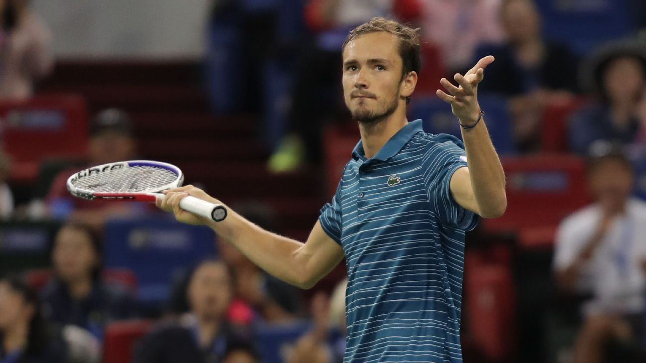 Daniil Medvedev wins Shanghai Masters for fourth title of the year