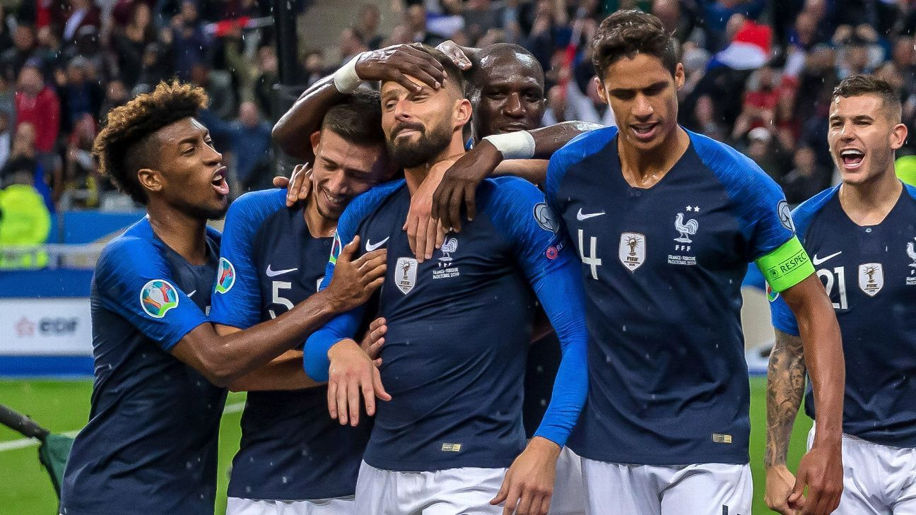 France haven't looked this bad since before they won World Cup. There's work to do before Euro 2020