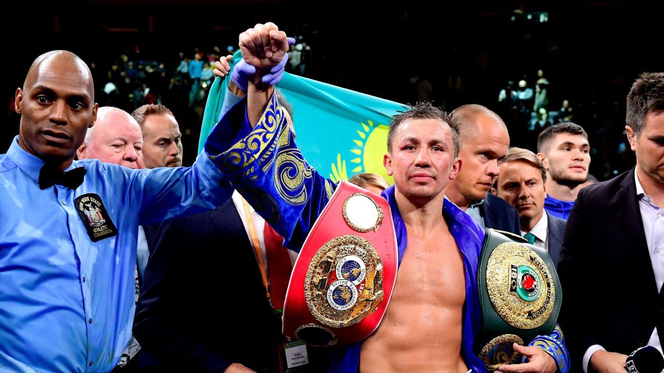 Pound-for-pound rankings: Spence, GGG, Usyk all fought ... where did they land?