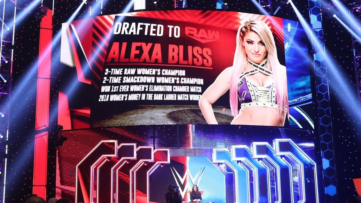 Five thoughts on the WWE draft