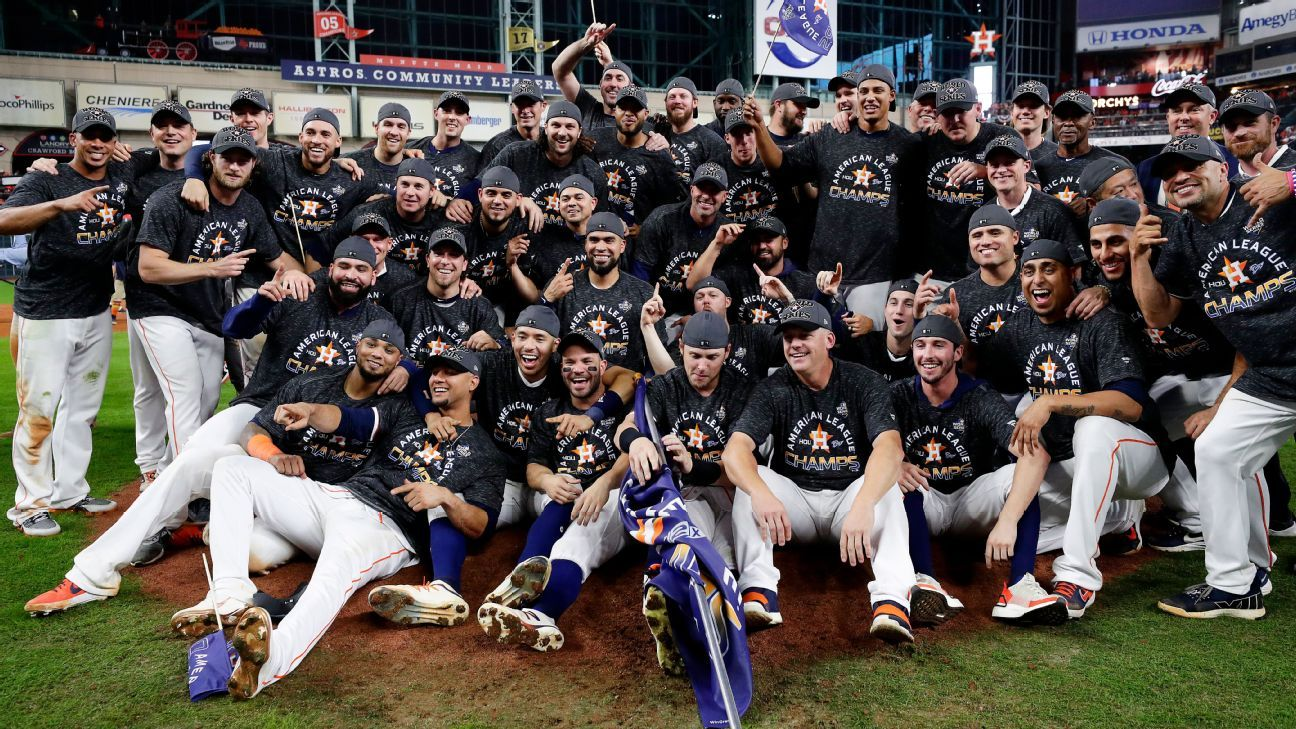 Astros biggest World Series favorites since '07