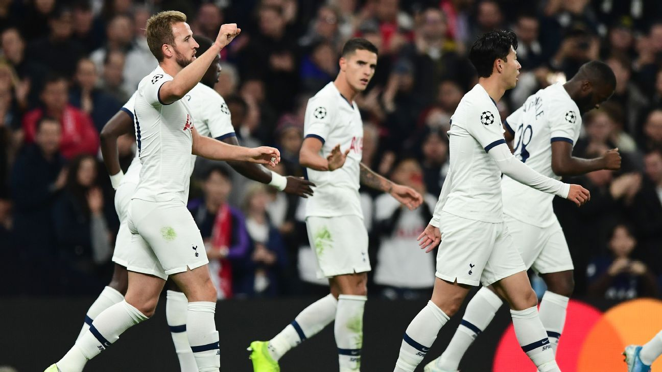 Tottenham end slump with emphatic Champions League win over Red Star