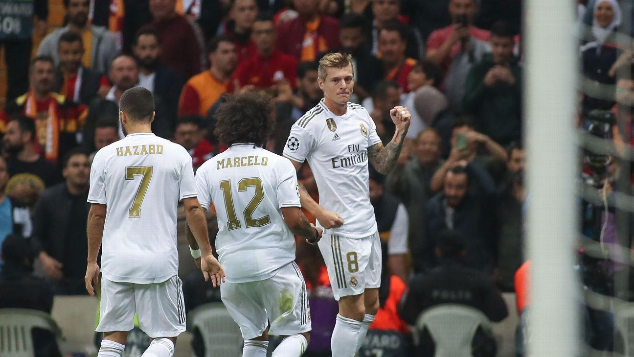 Kroos 8/10, Hazard 7/10 as Real Madrid grab crucial win in Istanbul