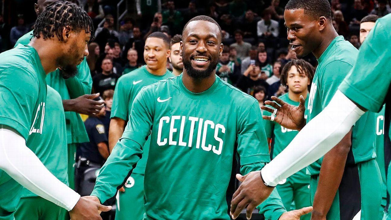 Why Kemba Walker has made 'happy' the Celtics' buzzword