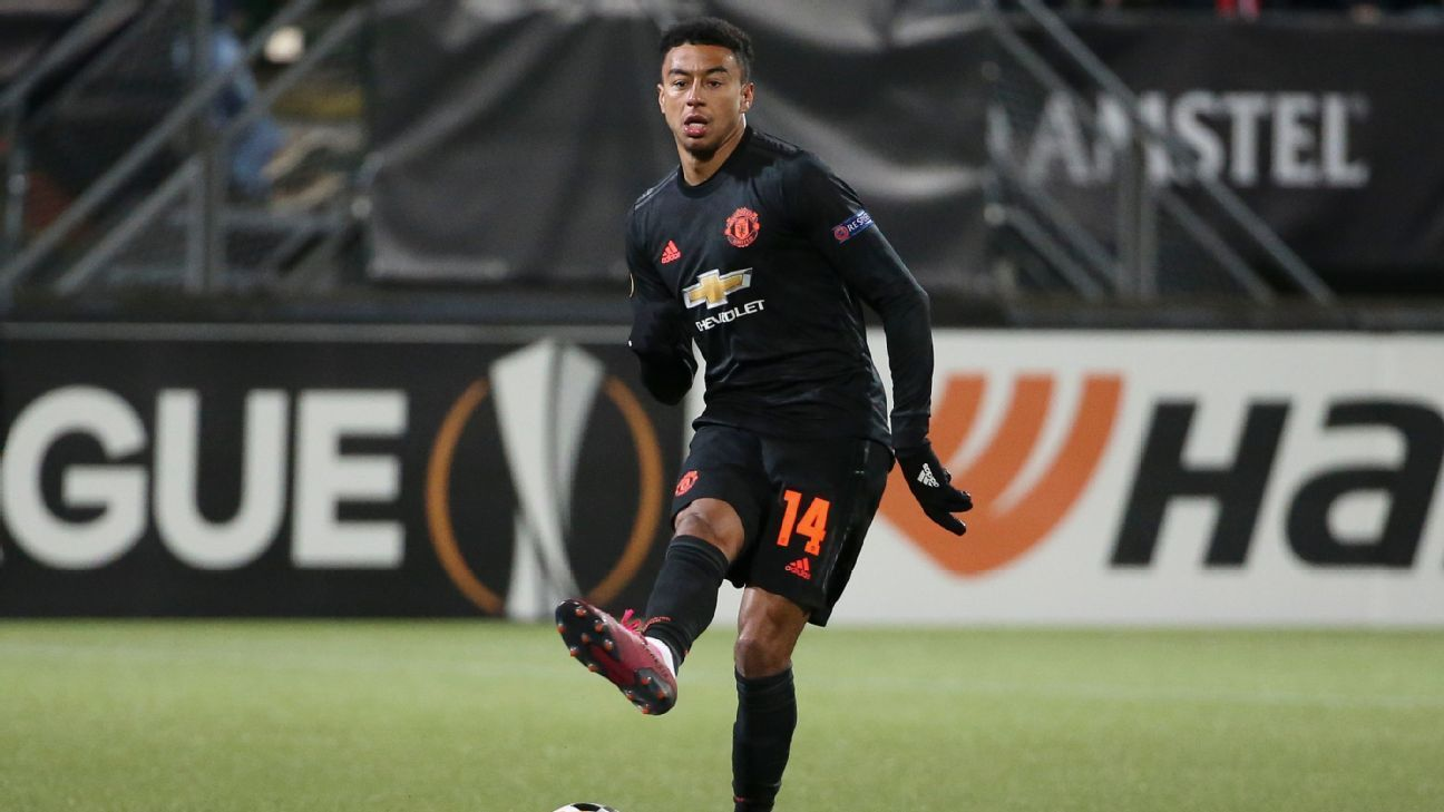 Lingard back in Man United training; Pogba, De Gea, Shaw out of Partizan clash