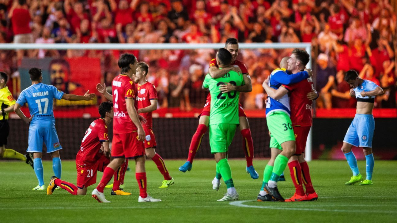 Al Hassan Toure inspires Adelaide United to rout of Melbourne City in FFA Cup final