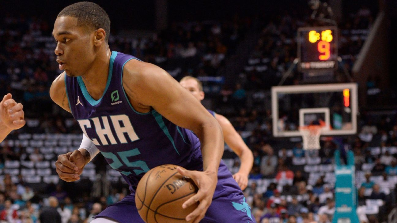 Hornets' PJ Washington sets record for most 3-pointers in NBA debut