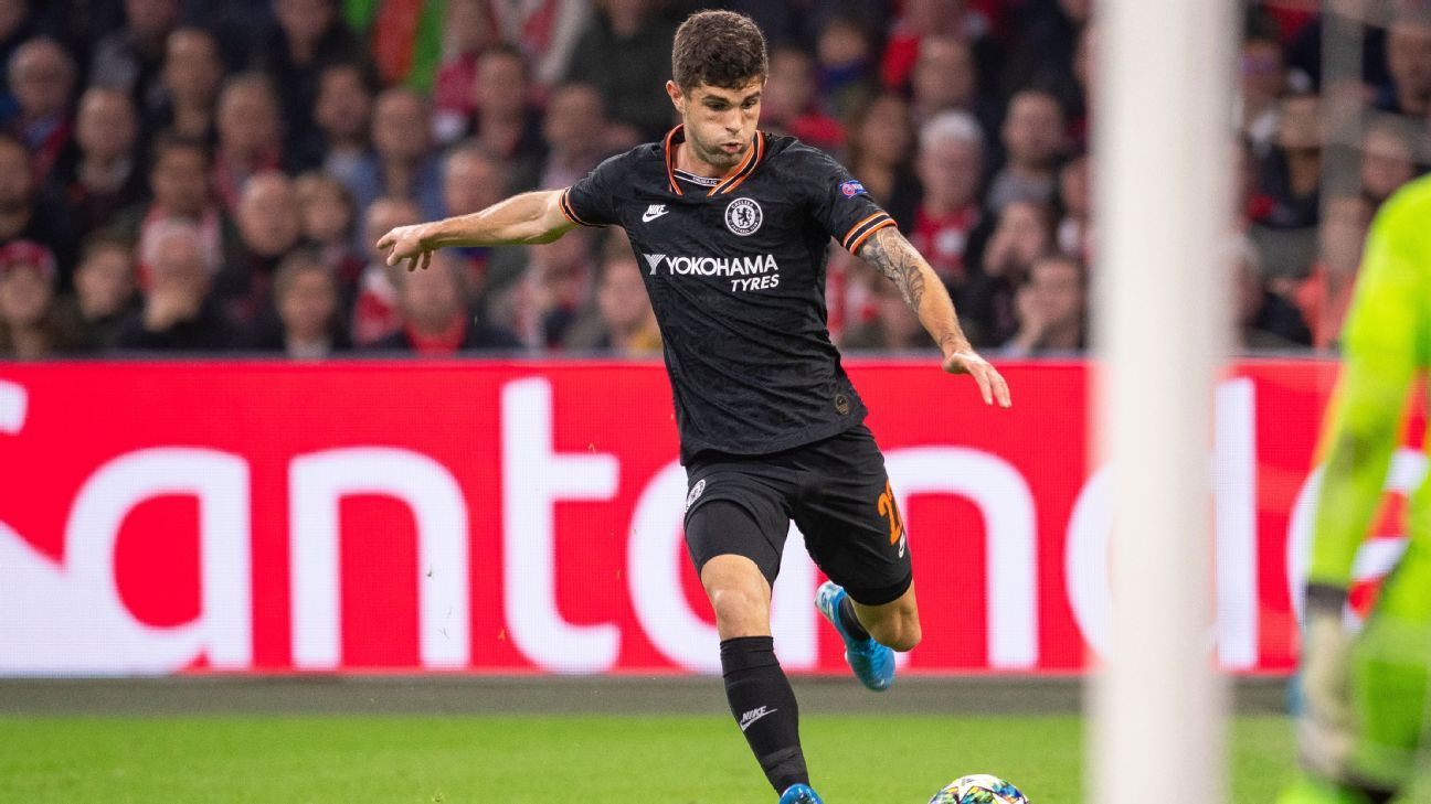 Frank Lampard hails Christian Pulisic as Chelsea's 'babies' come of age
