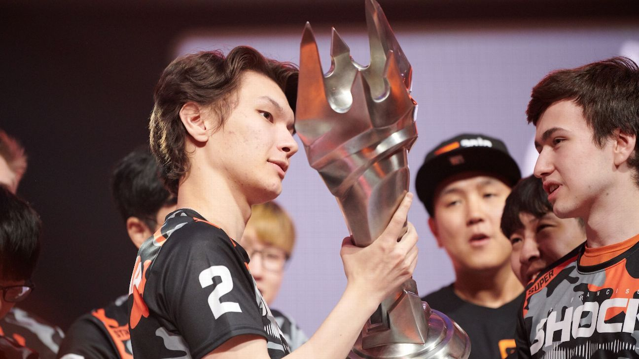 Sources: Overwatch League MVP Sinatraa to retire, join Sentinels VALORANT team