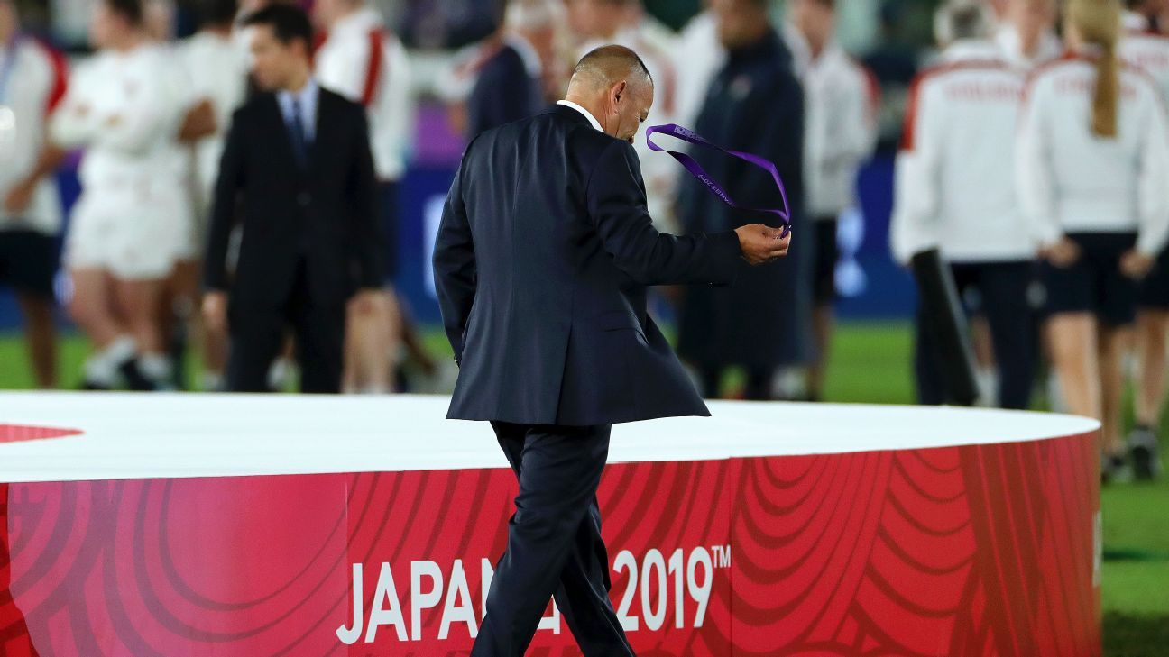 England's Eddie Jones on Rugby World Cup final defeat: Sometimes bad days just happen