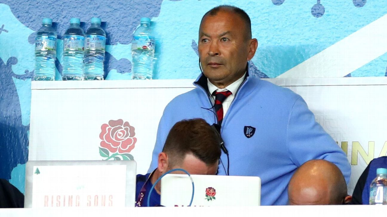 RFU want Eddie Jones to extend contract through 2023 Rugby World Cup