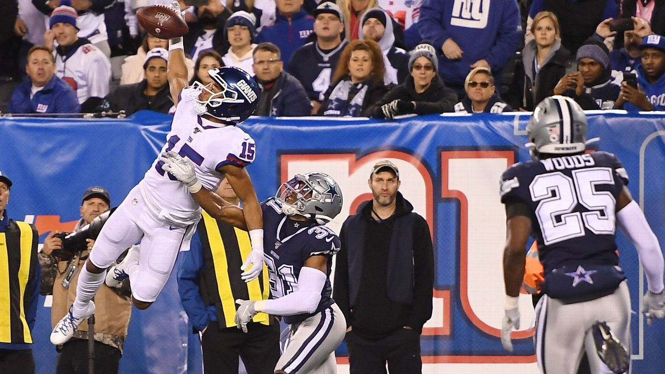 Giants expect Golden Tate, Evan Engram to face Eagles