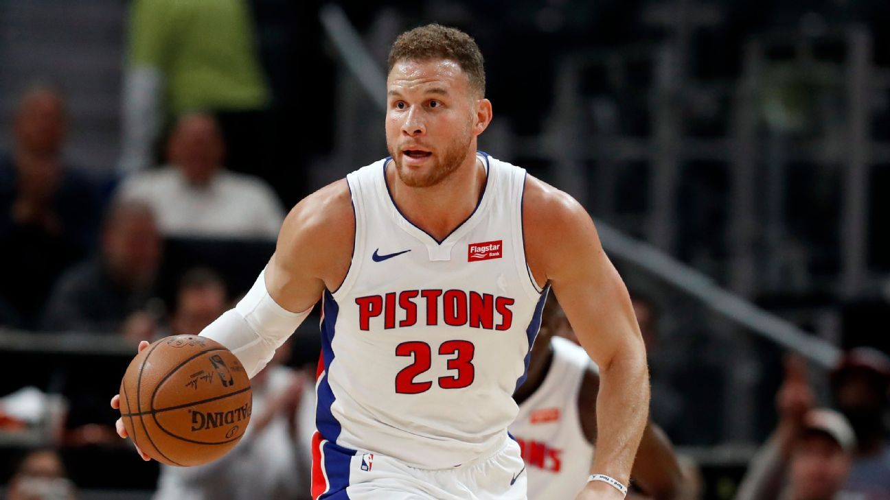 Griffin willing to change roles to help Pistons