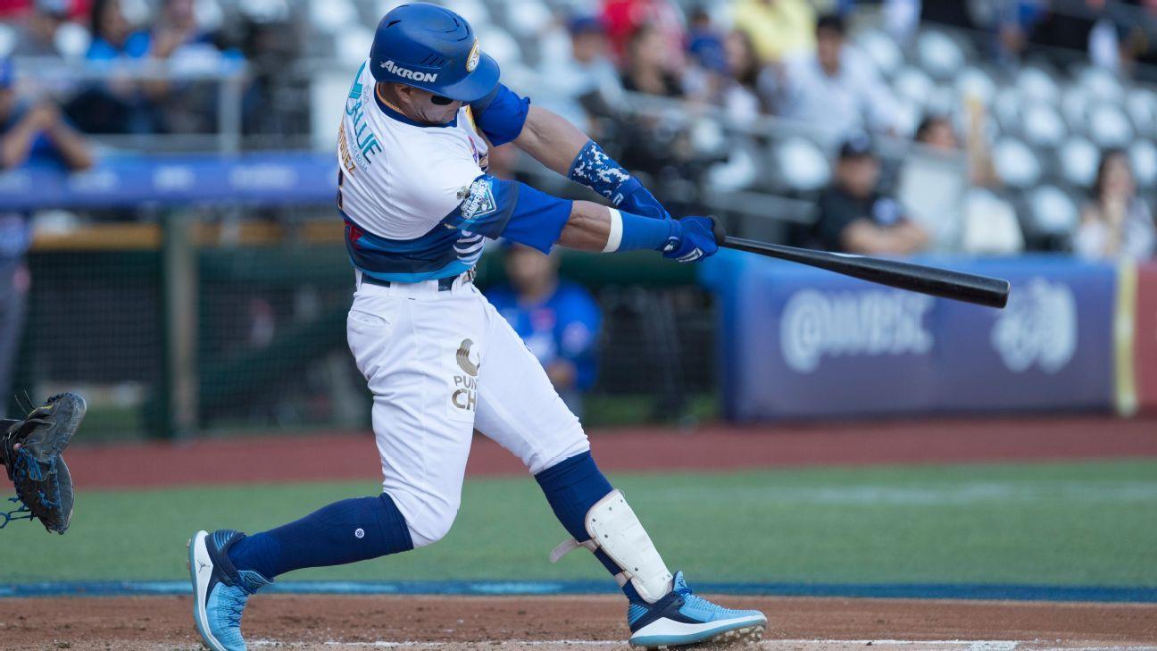 'Manny' Rodríguez arribó a 1,000 hits en Liga Mexicana del Pacífico - ESPN