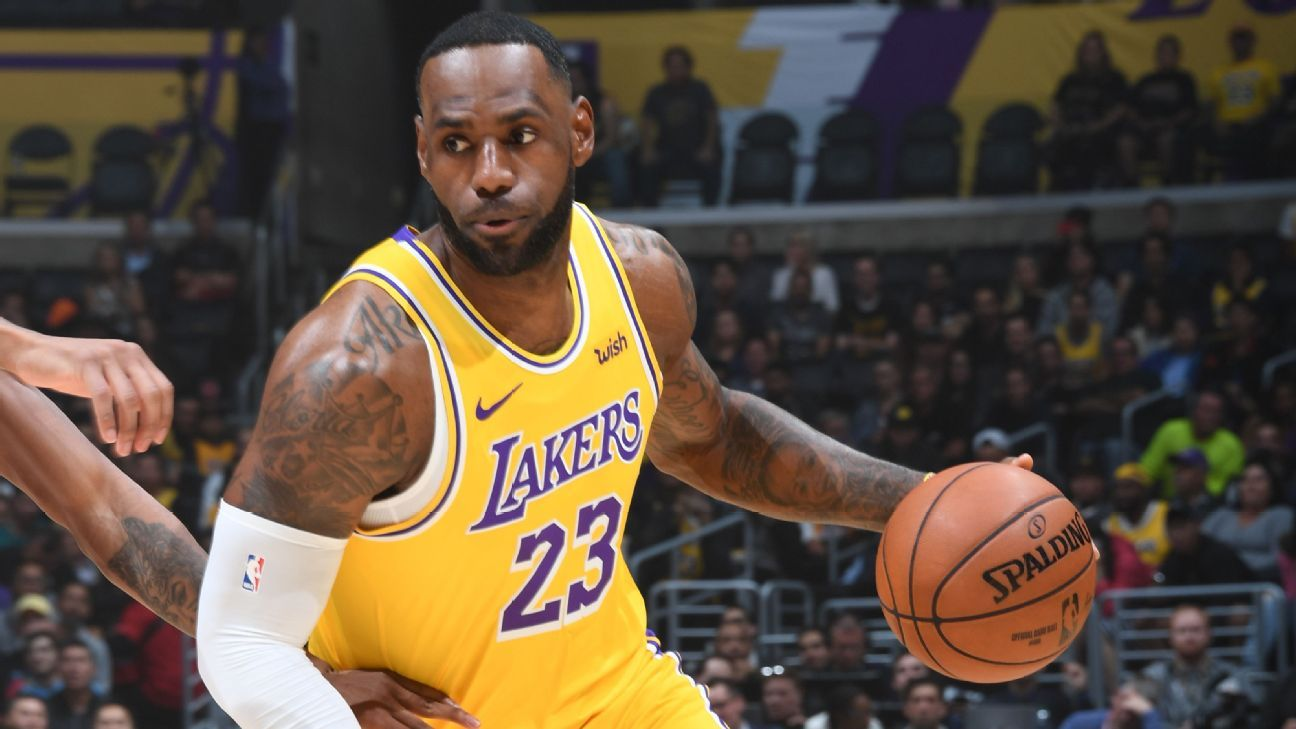LeBron first with triple-double vs. all 30 teams