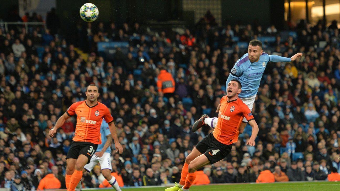 Manchester City vs. Shakhtar Donetsk - Reporte del Partido - 26 noviembre, 2019 - ESPN