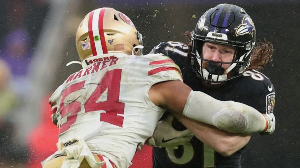 Fred Warner's cerebral approach at the heart of 49ers' defense