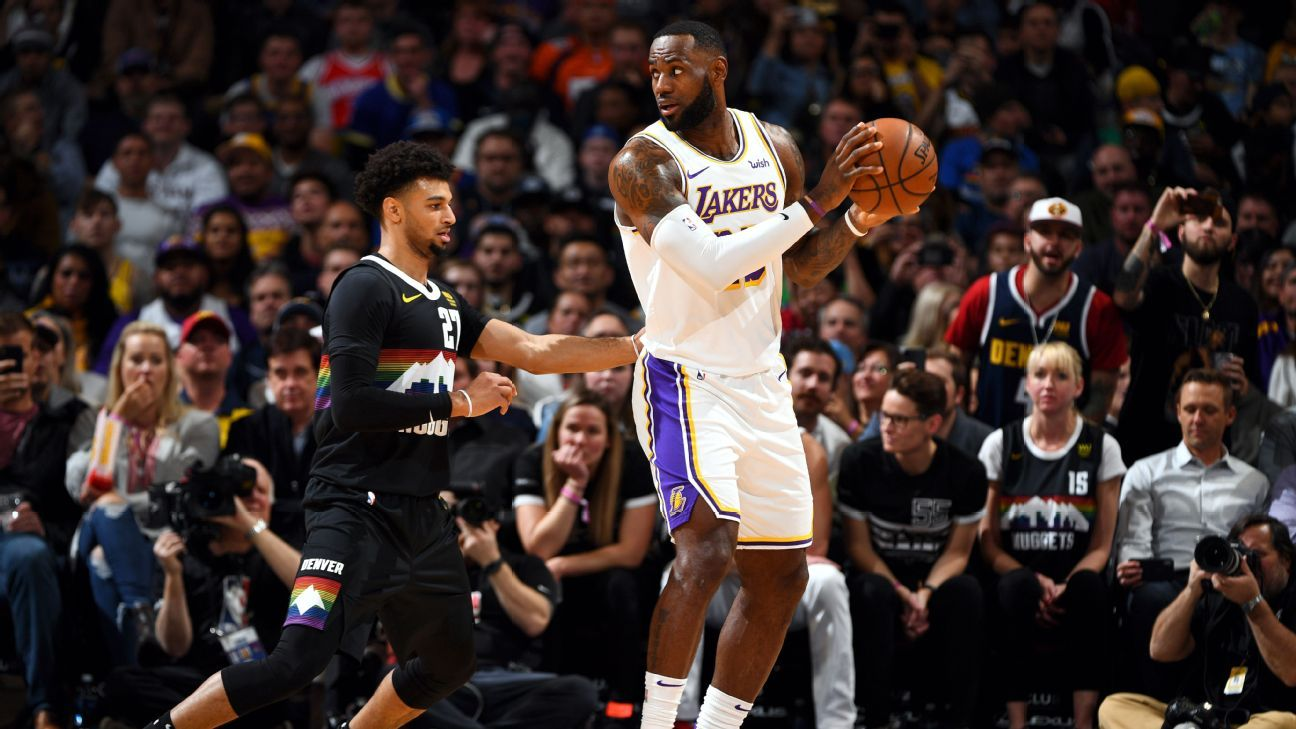 Nba Playoffs 2020 Experts Picks For Lakers Nuggets In The Western Conference Finals