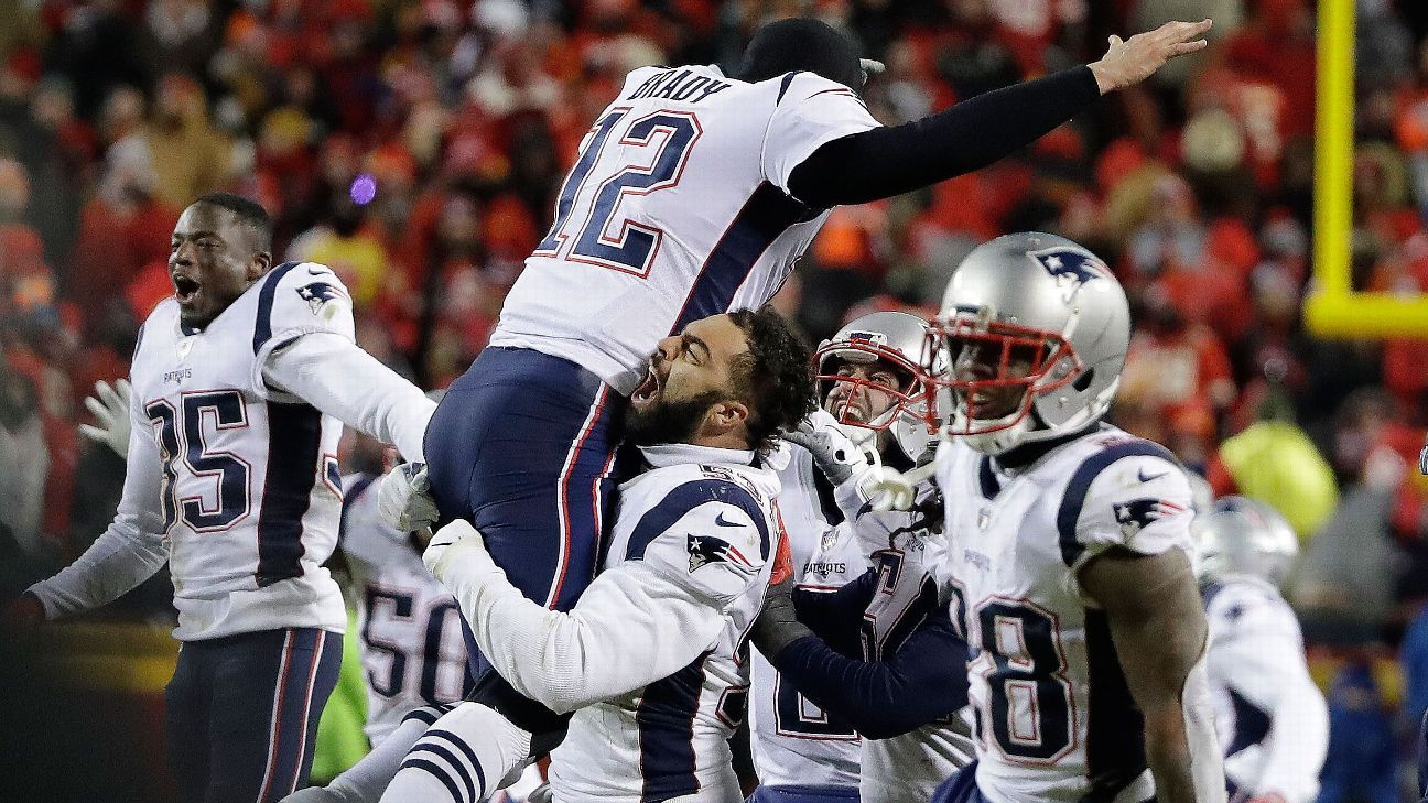 Patriots-Chiefs rematch evokes best victories of New England's dynasty