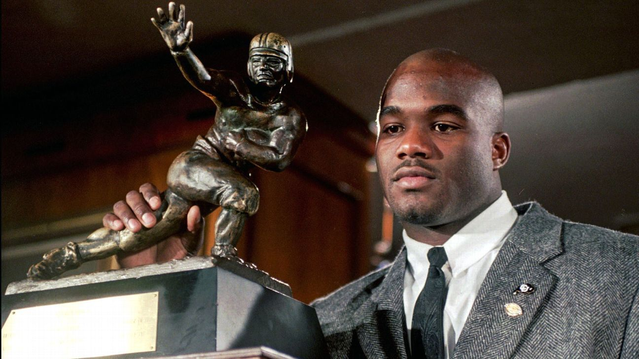 Inside the troubled life and death of 1994 Heisman winner Rashaan Salaam