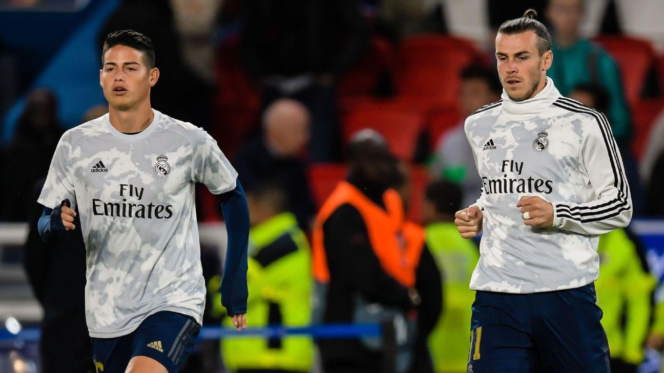 Transfer Talk: Real Madrid plan January fire sale of James Rodriguez, Gareth Bale