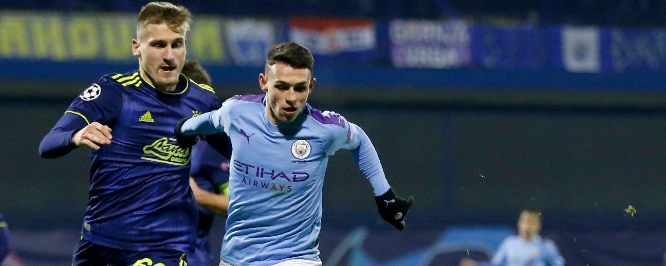 Dinamo Zagreb vs. Manchester City - Reporte del Partido - 11 diciembre, 2019 - ESPN