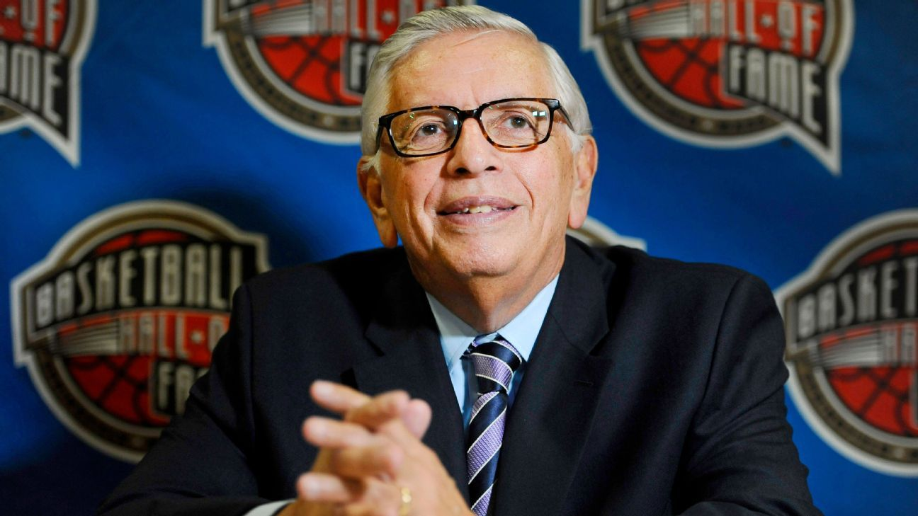 David Stern was a complete force of nature