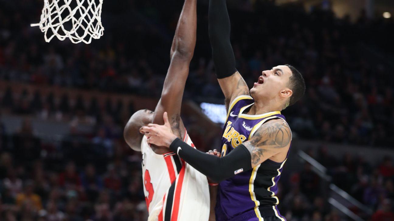 Lakers' Kyle Kuzma 'in attack mode,' scores 24 versus ...