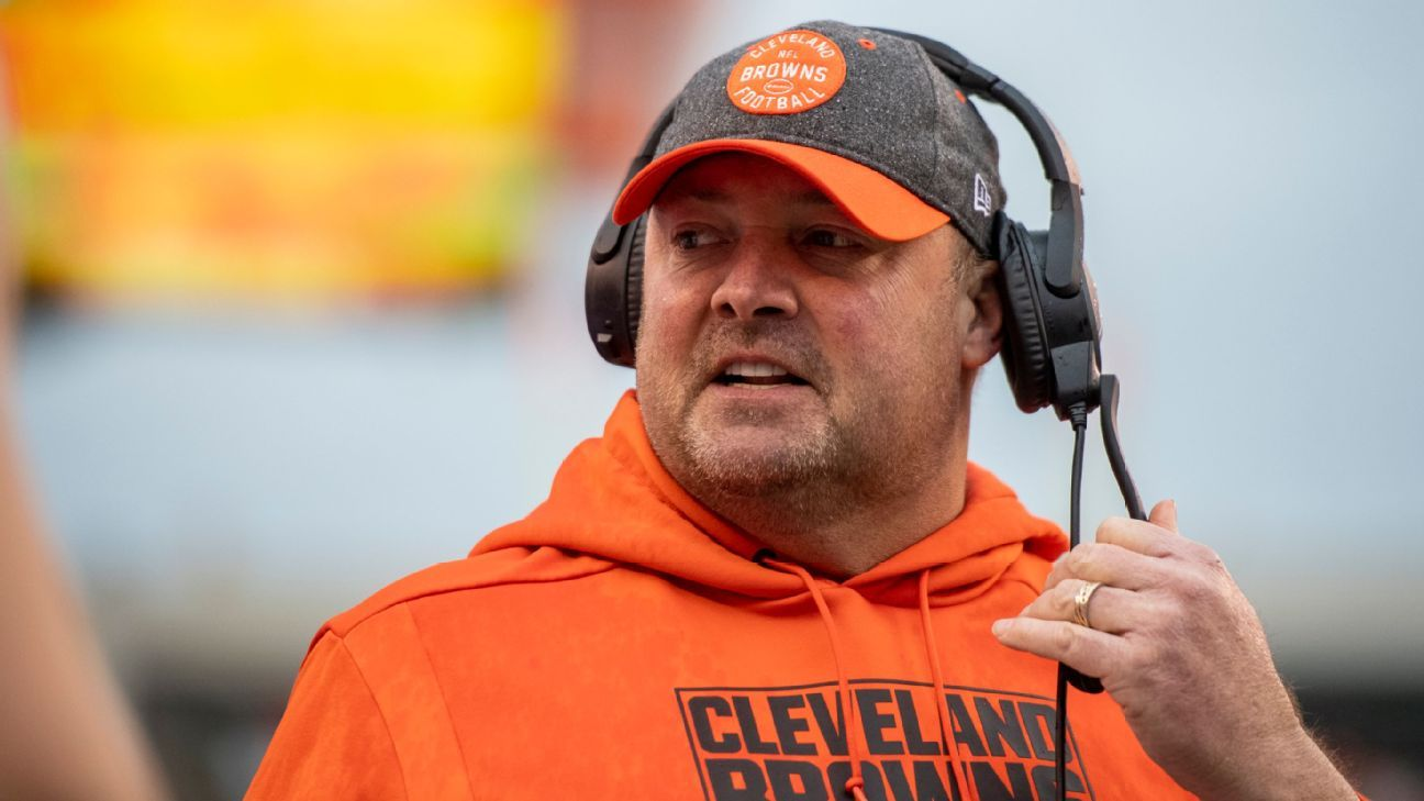 Ex-Browns coach Freddie Kitchens joins Giants as tight ends coach, source says