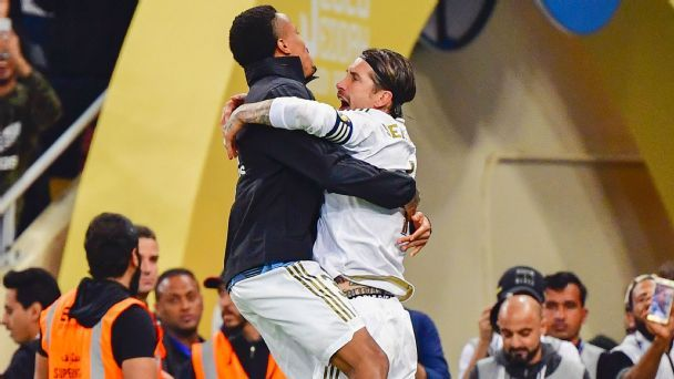Real Madrid Vs Atletico Madrid Football Match Report January