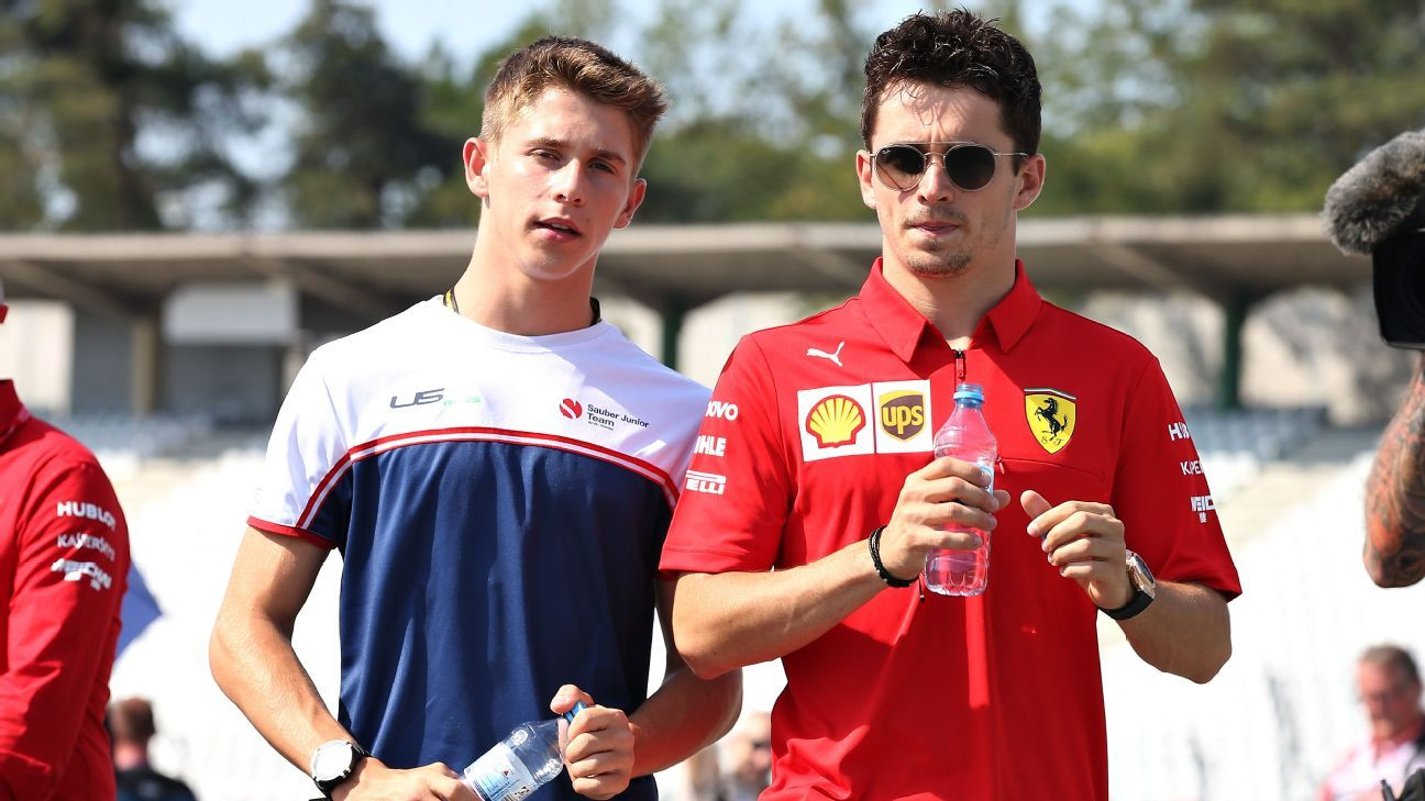 Leclerc's younger brother Arthur joins Ferrari academy