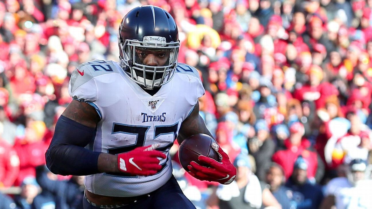 Derrick Henry gets emotional as Titans' playoff exit, future sink in