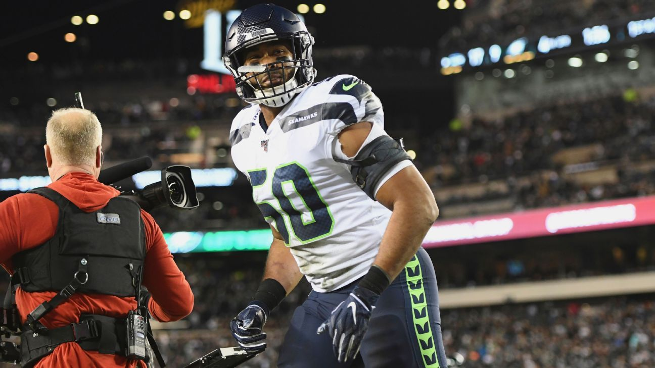 K.J. Wright shows he's 'a hell of a football player' for Seahawks in prove-it year
