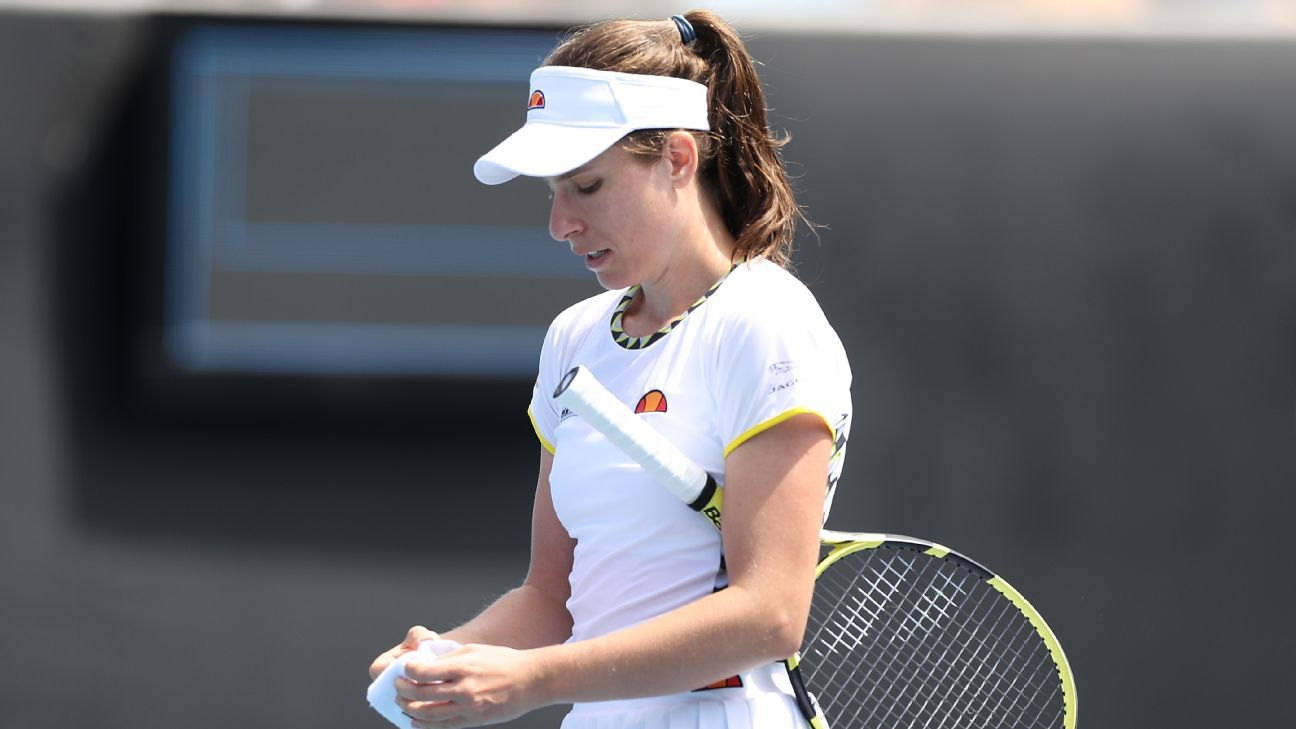 Jo Konta, Kyle Edmund both suffer early exits at the Australian Open