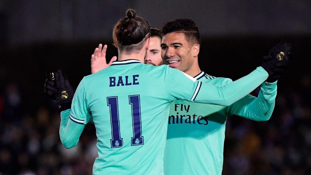 Unionistas de Salamanca vs. Real Madrid - Reporte del Partido - 22 enero, 2020 - ESPN