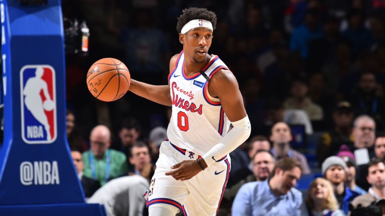 Source: 76ers' Josh Richardson to have hamstring re-evaluated in 2 weeks