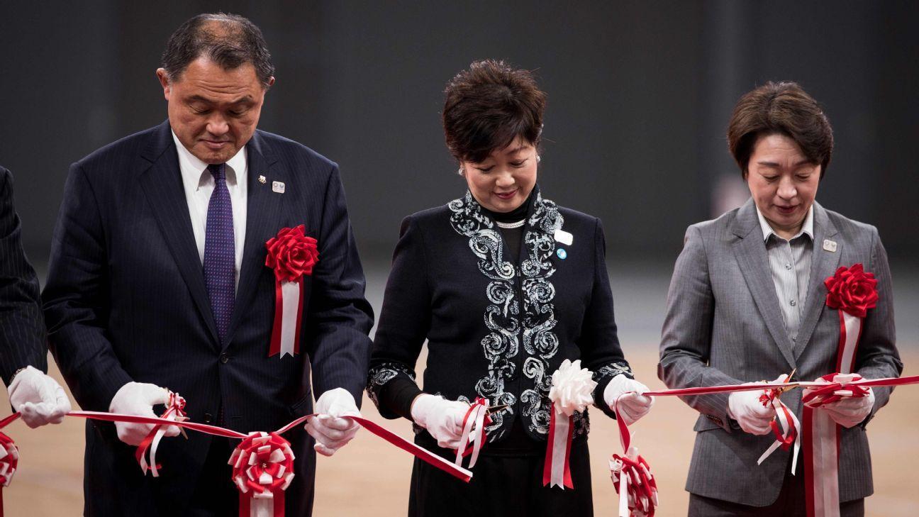 Tokyo cuts ribbon on new venue, Ariake Arena