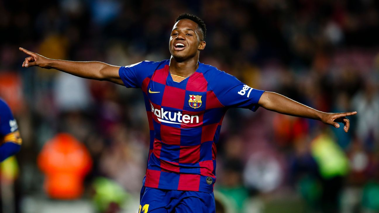 Fati's Barca release clause jumps to €400m after promotion to first team - ESPN