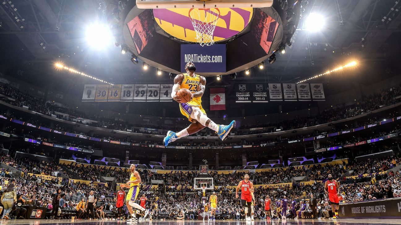 Lebron James Adds To Epic Collection Of Iconic Images With Must See Dunk Photo