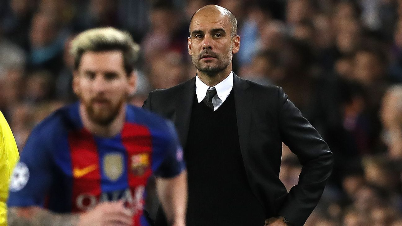 Barcelona's Lionel Messi spoke with Pep Guardiola about Manchester City  move - sources