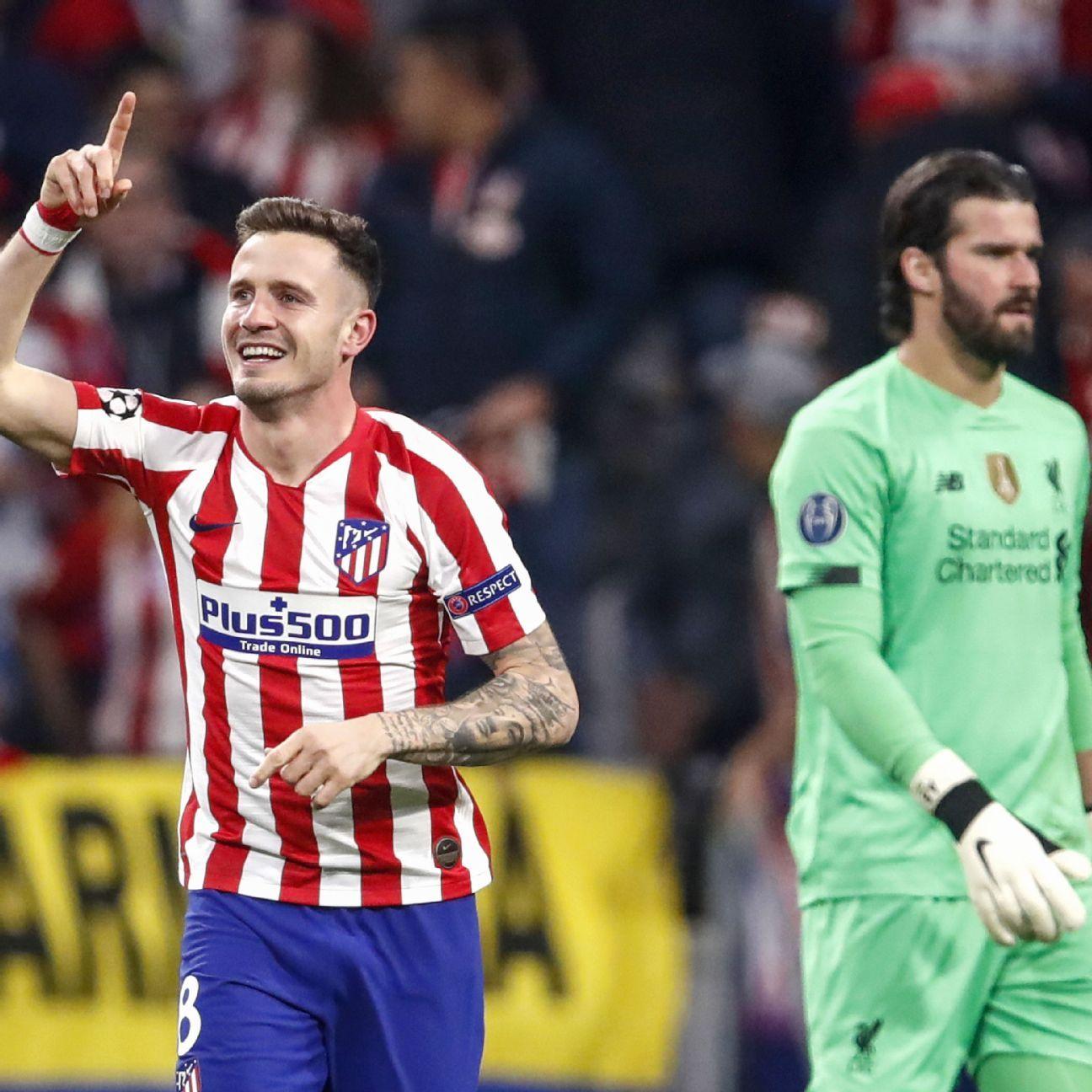 Atletico Madrid vs. Liverpool - Football Match Report - February 18, 2020 - ESPN