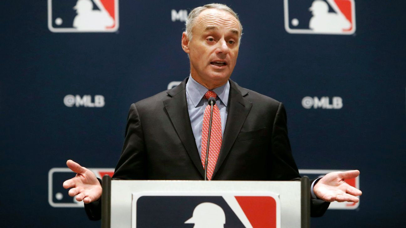 Rob Manfred has an option: Censure the 2017 Astros