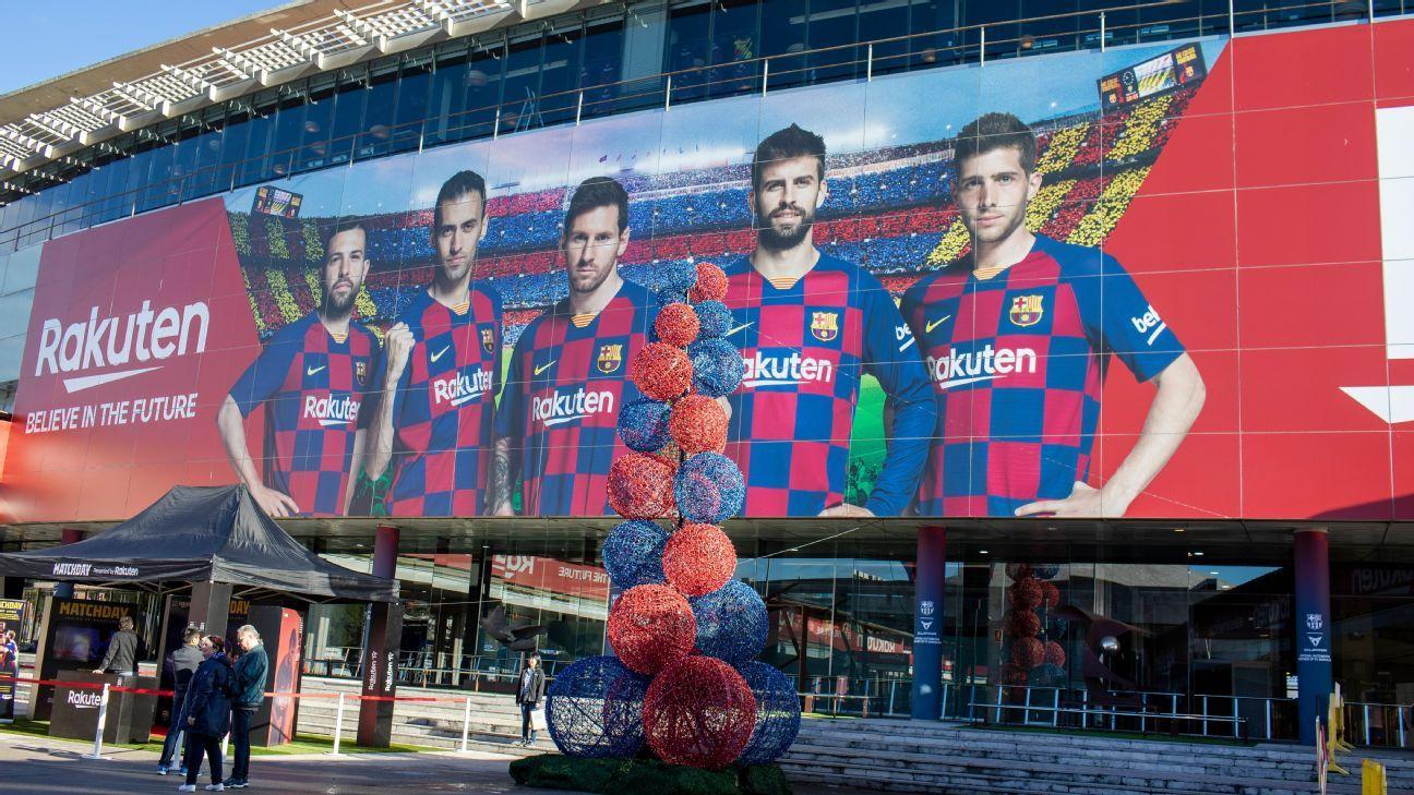 Barcelona stars to have coronavirus checks ahead of Napoli clash - sources - ESPN