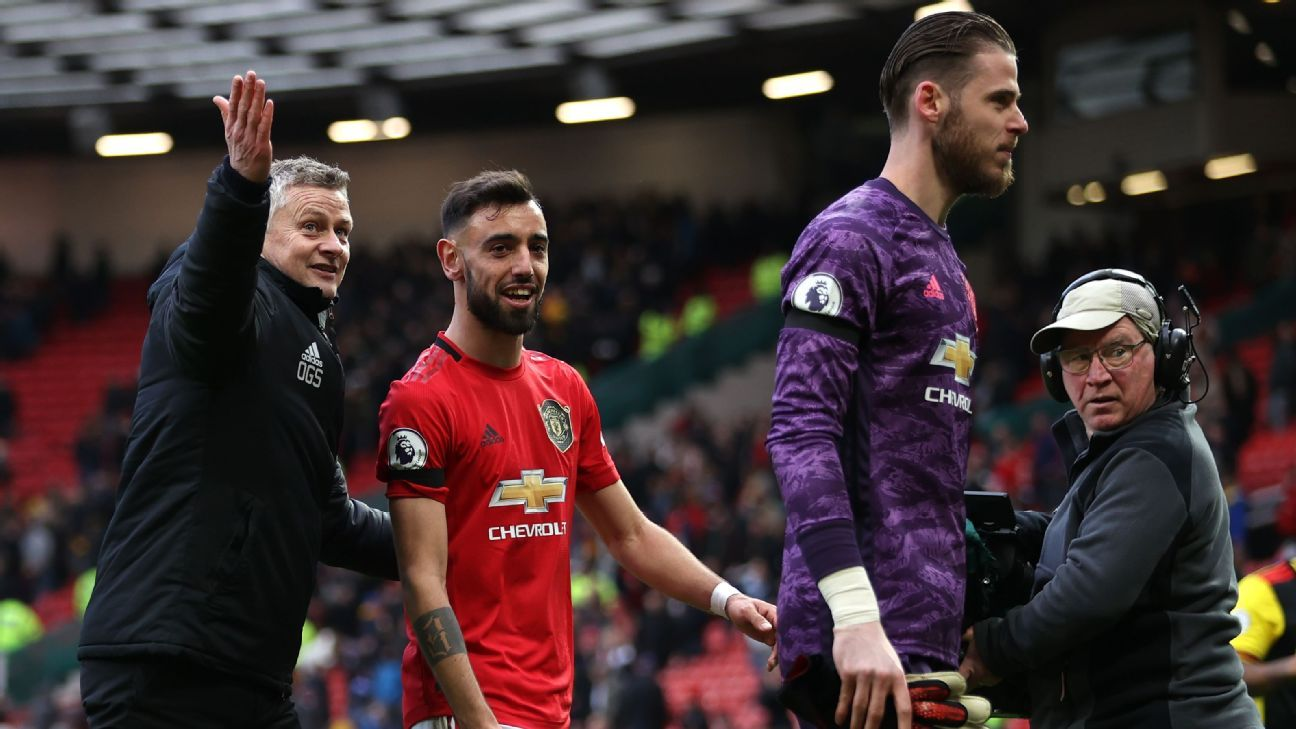 Fernandes sparking Man United at crucial point in the season