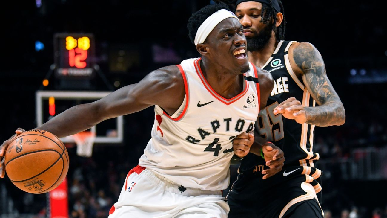 Pascal Siakam loves the work as much as the game