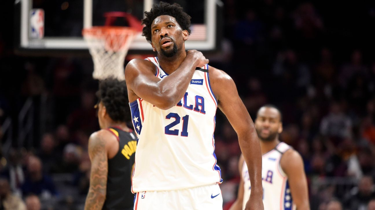 Source: Embiid out a week; no structural damage