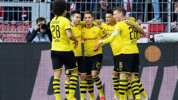 Borussia Dortmund vs. SC Freiburg - Football Match Report ...